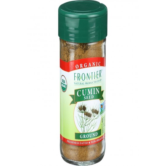 Frontier Herb Cumin Seed - Organic - Ground - 1.76 Oz