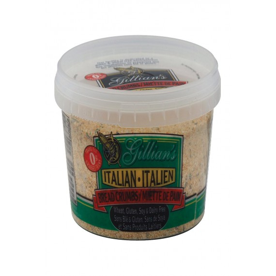Gillian's Food Bread Crumbs - Italian Style - Case Of 12 - 12 Oz.