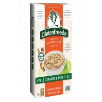 Gluten Freeda Instant Oatmeal - Apple - Case Of 8 - 10.5 Oz.