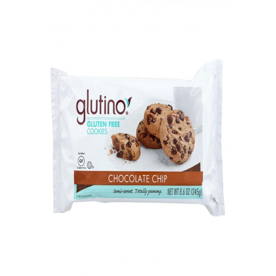 Glutino Chocolate Chip - Case Of 12 - 8.6 Oz.