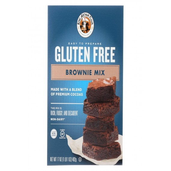 King Arthur Brownie Mix - Case Of 6 - 17 Oz.