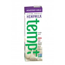 Living Harvest Hemp Milk - Unsweetened Vanilla - Case Of 12 - 32 Fl Oz.