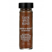 Morton And Bassett Cajun Spice Blend - 1.6 Oz - Case Of 3
