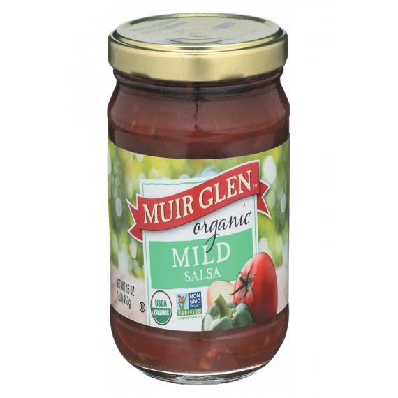 Muir Glen Muir Glen Mild Salsa - Tomato - Case Of 12 - 16 Oz.