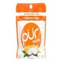 Pur Mint Gum - Tangerine Tango - Case Of 12 - 22 Gram