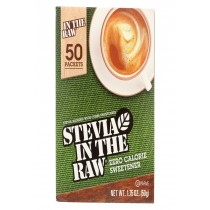 Stevia In The Raw Sweetener - Packets - Case Of 12 - 50 Count
