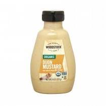 Woodstock Organic Mustard - Dijon - Case Of 12 - 8 Oz.