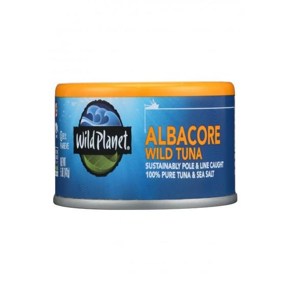 Wild Planet Albacore Tuna - Low Mercury - Case Of 12 - 5 Oz.