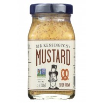 Sir Kensington's Spicy Brown Mustard - Case Of 6 - 11 Oz.