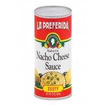 La Preferida Nacho Sauce - Cheese - Case Of 12 - 15 Oz.