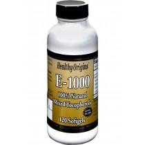 Healthy Origins E-1000 - 1000 Iu - 120 Softgels