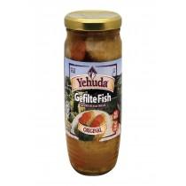 Yehuda Matzo Gelfilte Fish - Original - Case Of 12 - 24 Oz.