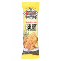 La Fish Fry New Orleans Style - Lemon - Case Of 12 - 10 Oz.