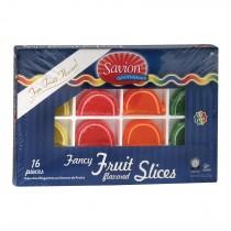 Savion Fruit - Slices - Case Of 12 - 6 Oz