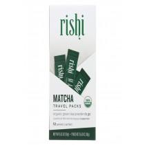 Rishi Tea - Matcha Sticks - Green Matcha - Case Of 6 - .63 Oz