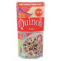 Suzie's Quinoa - Asian - Ready To Eat - Case Of 6 - 8 Oz