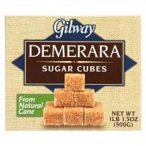 Gilway Demerara Sugar Cubes - Case Of 10 - 17.5 Oz.