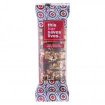 This Bar Saves Lives - Dark Chocolate Cherry And Sea Salt - Case Of 12 - 1.4 Oz.