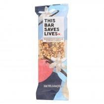 This Bar Saves Lives - Madagascar Vanilla Almond And Honey - Case Of 12 - 1.4 Oz.