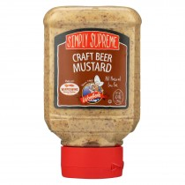 Woeber's Simply Supreme Craft Beer Mustard - Case Of 6 - 10 Oz.