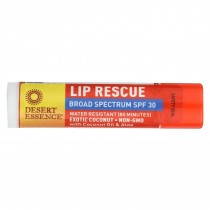 Desert Essence Lip Balm - Exotic Coconut - Spf30 - Case Of 24 - .15 Oz