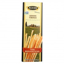Alessi Breadsticks - Thin - Case Of 12 - 3 Oz.
