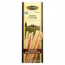 Alessi Breadsticks - Sesame - Case Of 12 - 4.4 Oz.