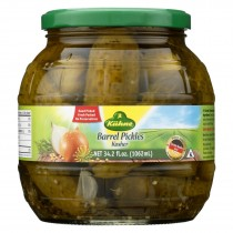 Kuhne Barrel Pickles - Case Of 6 - 34.2 Oz.