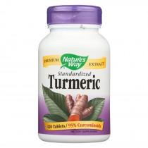 Nature's Way Turmeric Standardized - 120 Tab