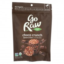 Go Raw Sprouted Cookies - Choco Crunch - Case Of 12 - 3 Oz.