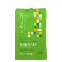 Andalou Naturals Silky Smooth Hair Mask -exotic Marula Oil - Case Of 6 - 1.5 Fl Oz