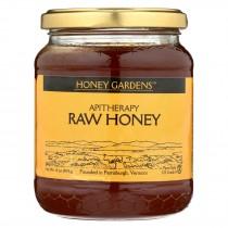 Honey Gardens Apiaries Apitherapy Honey - Raw - Case Of 4 - 1 Lb.