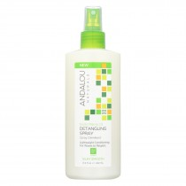 Andalou Naturals Silky Smooth Detangling Spray -exotic Marula Oil - 8.2 Fl Oz