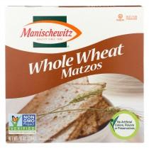 Manischewitz Whole Wheat Matzo - Case Of 12 - 10 Oz.