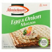 Manischewitz Matzo Egg And Onion - Case Of 12 - 10 Oz.