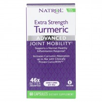 Natrol Turmeric Capsules - Extra Strength - 60 Count