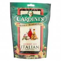 Cardini's Croutons - Italian - Case Of 12 - 5 Oz