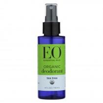 Eo Organic Deodorant Spray - Tea Tree - 4 Fl Oz.