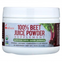 Red Ace Beet Juice - Organic - Powder - Case Of 6 - 150 Grm