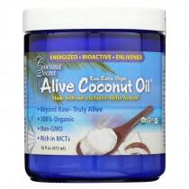 Coconut Secret Alive Coconut Oil - Case Of 6 - 16 Fl Oz.