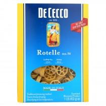 De Cecco Pasta Pasta - Rotelle - Wagonwheel - Case Of 12 - 16 Oz