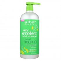 Alba Botanica Very Emollient Bath & Shower Gel - Herbal Healing - 32 Fl Oz