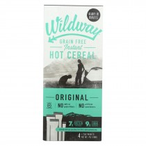 Wildway Hot Cereal - Grain Free - Case Of 4 - 7 Oz.