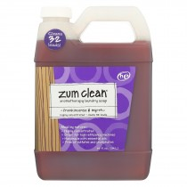 Zum Clean Laundry Soap - Frankincense And Myrrh - Case Of 8 - 32 Oz.