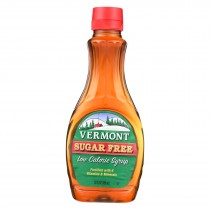 Maple Grove Farms Vermont Sugar Free Low Calorie Syrup - Case Of 12 - 12 Fl Oz.
