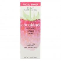 Cocokind Toner - Facial Vinegar Raspberry - 4 Oz