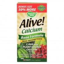 Nature's Way Alive! Calcium - 180 Count