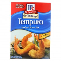 Golden Dipt Breading - Tempura Mix - Case Of 8 - 8 Oz