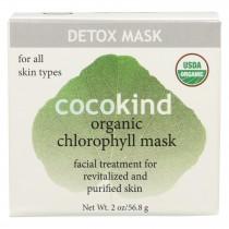 Cocokind Mask - Organic - Chlorophyll - 2 Oz