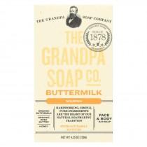 Grandpa Soap Soap - Buttermilk - 4.25 Oz